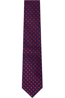 DUCHAMP Striker Dots tie
