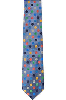 DUCHAMP Regular Dots tie