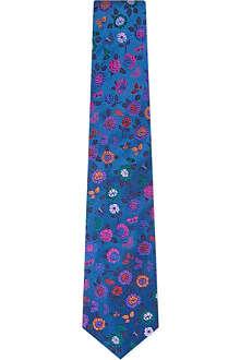 DUCHAMP Astor floral silk tie