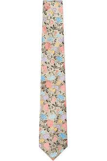 DUCHAMP Rose Garden floral tie