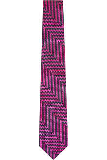 DUCHAMP Large Zig Zag tie