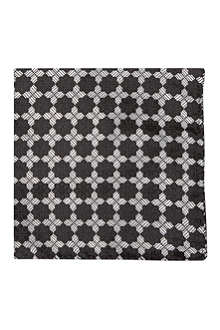 DUCHAMP Geo tile pocket square