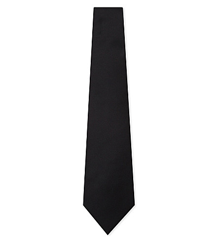 LANVIN Silk evening tie (Black