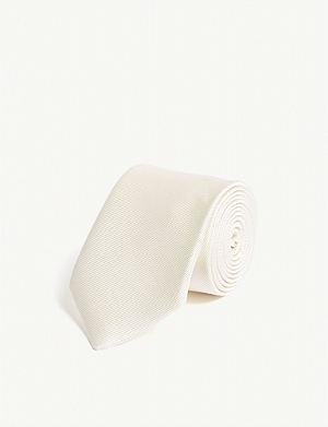 LANVIN Woven cotton tie