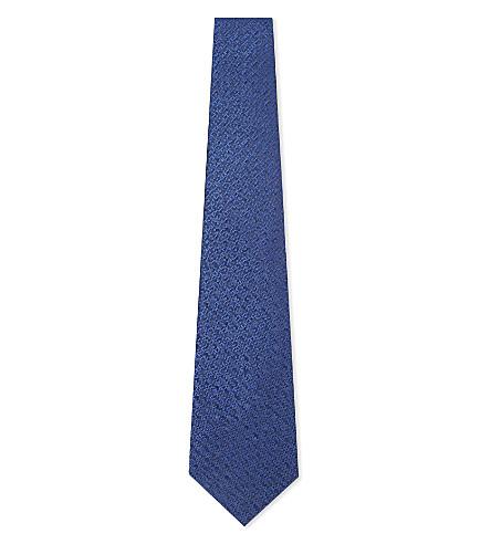 LANVIN Degrade triangle tie (Blue
