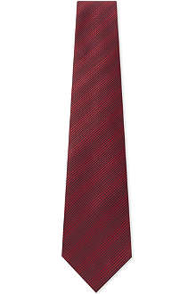 LANVIN Thick-spaced stitches tie