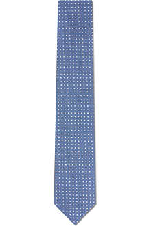 YVES SAINT LAURENT Patterned silk tie