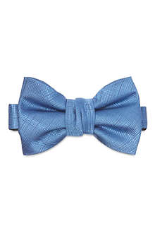 YVES SAINT LAURENT Brush effect bow tie