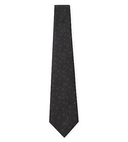 LANVIN Firework silk bow tie (Black+2