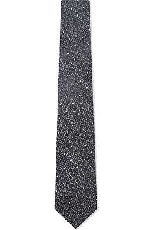 YVES SAINT LAURENT Speckled dots tie