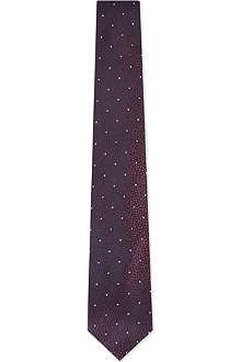 YVES SAINT LAURENT Speckled dots tie