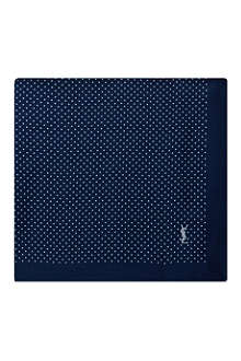 YVES SAINT LAURENT Polka-dot pocket square