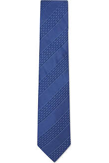 LANVIN Dash striped silk tie