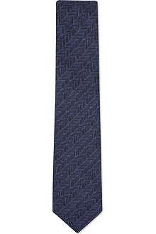 LANVIN Mini chevrons tie