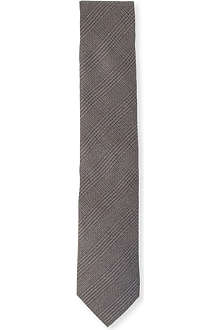 LANVIN Glen checked tie