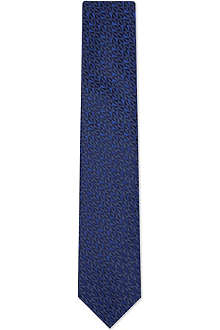 LANVIN Mini triangles silk tie