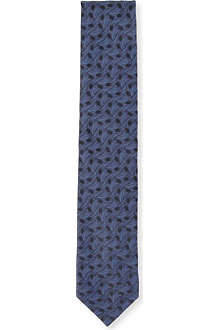 LANVIN Feather wave tie