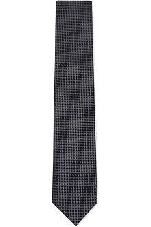 LANVIN Mini circles silk tie