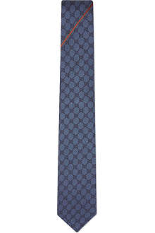GUCCI Logo print tie
