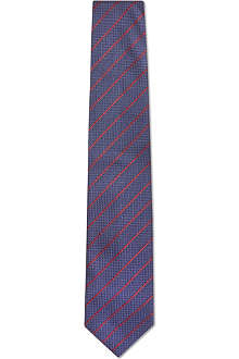 GUCCI Textured stripe tie