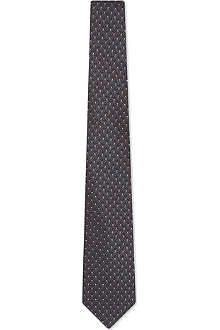 GUCCI Woven pattern tie