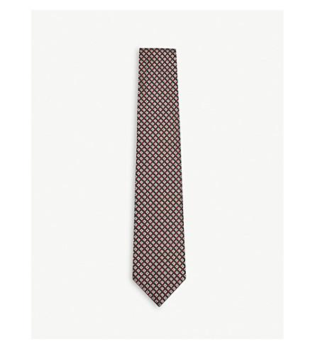 3-D G silk tie - Green Gucci gQYKMP0D
