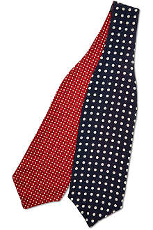 PAUL SMITH Polka dot silk cravat