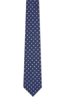 PAUL SMITH Mini flowers silk tie