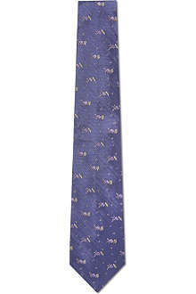 PAUL SMITH Flower print tie