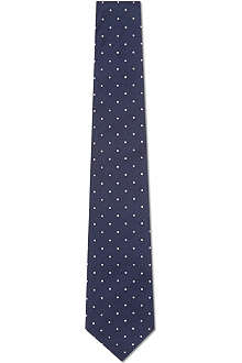 PAUL SMITH Mini dot silk tie
