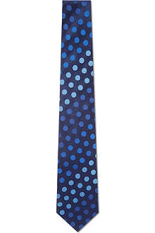 PAUL SMITH Gradient polka dot tie