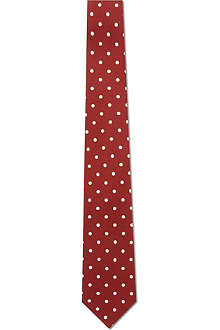 PAUL SMITH Polka dot silk tie