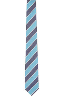 PAUL SMITH Grained bar stripe silk tie