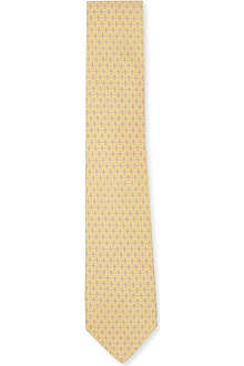 FERRAGAMO Toy-printed silk tie