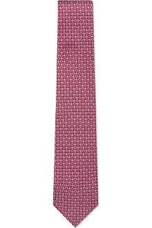 FERRAGAMO Stars silk tie