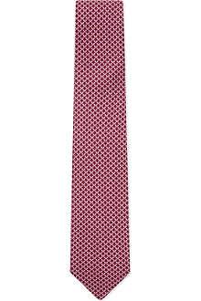 FERRAGAMO Butterfly silk tie