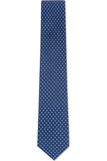 FERRAGAMO Star in star silk tie