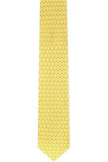 FERRAGAMO Golfing silk tie