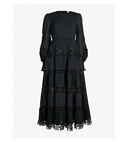 ZIMMERMANN Primrose cotton dress (Noir