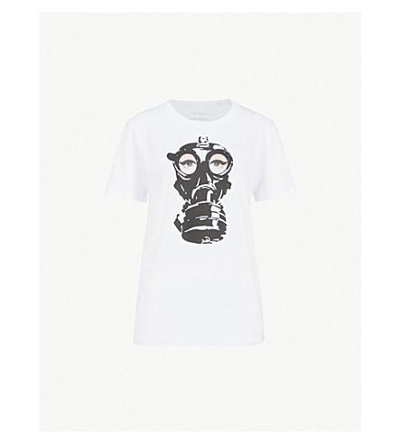 A.F.VANDEVORST A.F.Vandevorst x B. Åkerlund printed cotton-jersey T-shirt (White