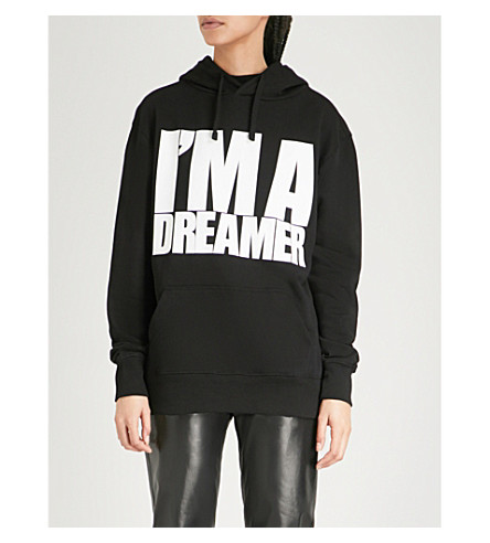 GARETH PUGH Dreamer cotton-jersey hoody (Black