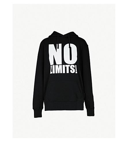 GARETH PUGH No Limits cotton-jersey sweatshirt (Black