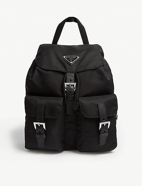 064921703faa PRADA Logo small nylon backpack