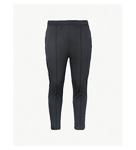 PRADA Contrast-piped slim-fit jersey jogging bottoms (Nero