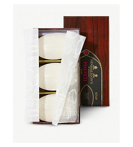 PENHALIGONS Halfeti 肥皂 3 x 100g