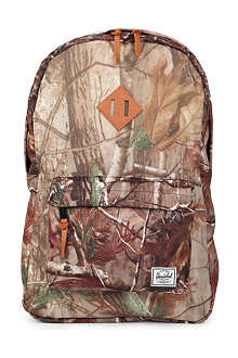 HERSCHEL Real Tree Heritage backpack