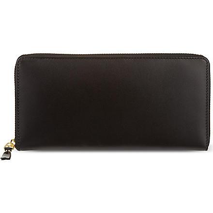 COMME DES GARCONS Classic long leather wallet (Black