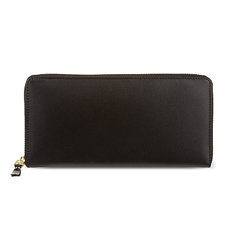 COMME DES GARCONS Classic long leather wallet (Black