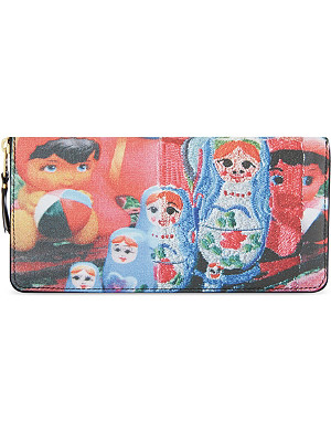 COMME DES GARCONS Russian Dolls long wallet