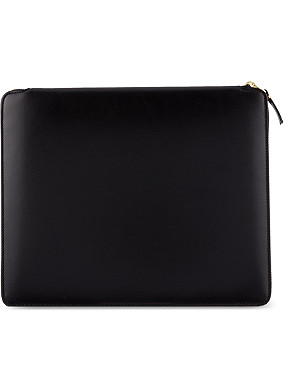 COMME DES GARCONS Classic leather document holder